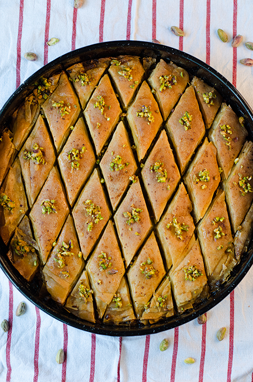 Baklava recipe recipe for phyllo dough is adapted from turkish food recipes this is a youtube clip in turkish with english subs and its really easy to follow forumfinder Choice Image
