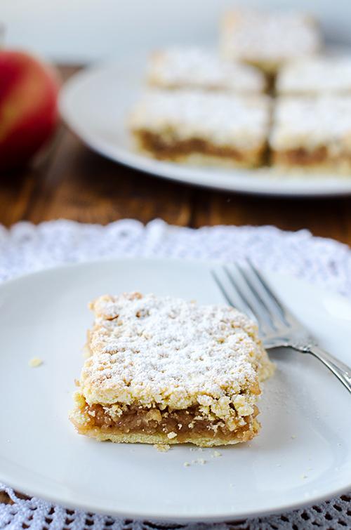Old fashioned Apple Pie Bars (Croatian Apple Pie)
