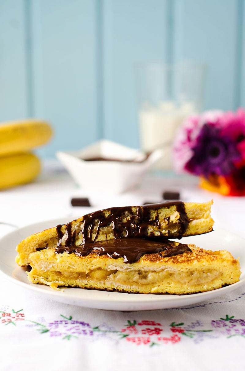 Caramelized Banana French Toast