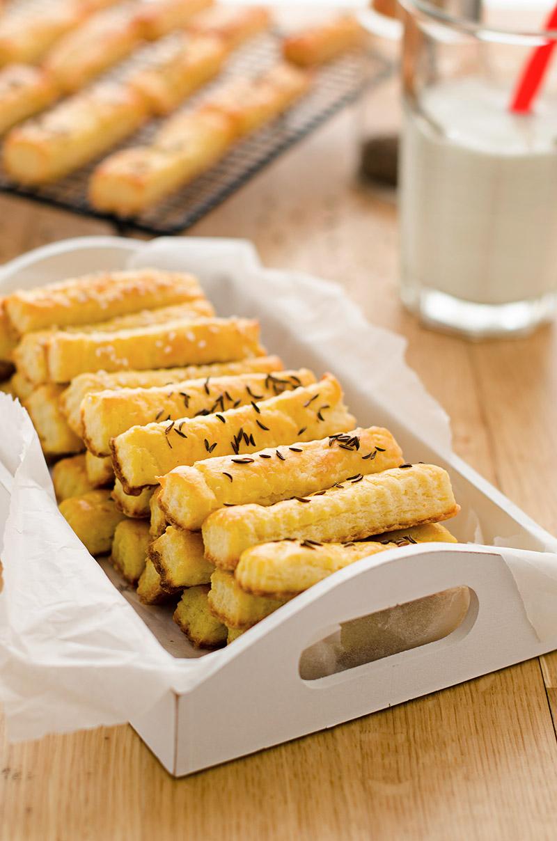 Soft Cheesy Sticks