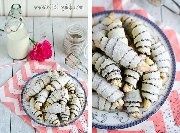 Poppy Seed Rolls Cookies