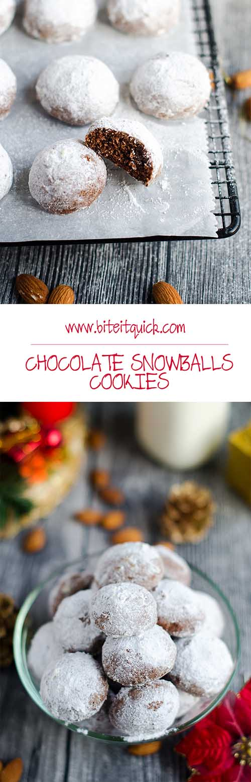 hocolate Snowballs Cookies