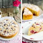 Almond Ricotta Raspberry Cake