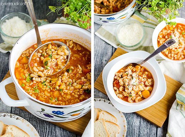 Bolognese soup