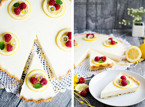 Lemon Yogurt Tart